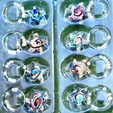 Very Nice 8pc Acrylic Starfish Wine Charms