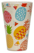 SIKORA CUP001 Set of 4 Sustainable Bamboo Fibre Coffee Cups 14 oz 100% BPA Free
