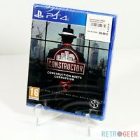 Jeu Constructor Construction Meets Corruption VF PlayStation 4 PS4 NEUF Blister