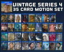 VINTAGE SERIES 4-MOTION-35 CARD SET-TOPPS STAR WARS CARD TRADER DIGITAL