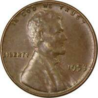 1953 1c Lincoln Wheat Cent Penny US Coin Average Circulated