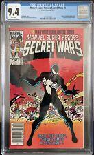 Marvel Super Heroes - Secret Wars 8 - CGC 9.4 Newsstand