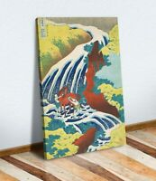 Hokusai Yoshitsune Falls CANVAS WALL ART CANVAS ARTWORK PRINT PICTURE Japanese