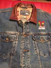Dunbrooke Upstream Blue Denim COTTON Jacket KELLOGG'S CORN FLAKES Size Xl C10