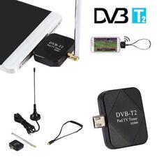 Digital DVB-T2 Empfänger TV Stick Micro USB OTG Tuner für Android OS 4.1-6.0