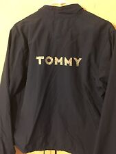Vintage Tommy Hilfiger Blue Jacket Wind Breaker Large EUC