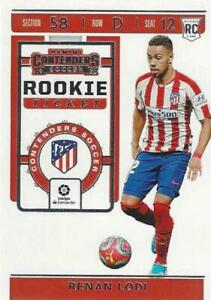2019-20 Panini Chronicles Contenders Soccer Rookie Ticket Set Base Common