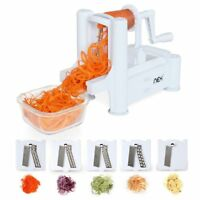 Multi-Function Cucumber Vegetable Slicer Cutter 5 Blade Kitchen Tool and Makeup