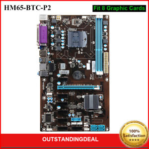 Mining Motherboard 8PCIE Onboard CPU Fit 8 Graphic Cards Coin Mining for Bitcoin