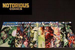 Green Lanterns Rebirth 1 2 3 4 5 6 7 8 Complete Comic Lot Run Set EXCELSIOR BIN