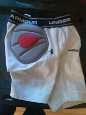 Under Armour Performance white Football shorts padded Size:Youth large fitted