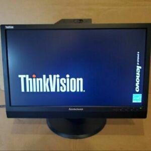 "Lenovo ThinkVision LT2223zwc,22"" Widescreen 1920x1080 LED Backlit Monitor,WebCam"