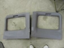 99-07 FORD F250 f350 superduty EXT CAB rear DOOR PANELS GREY OEM TOP WINDOW F450