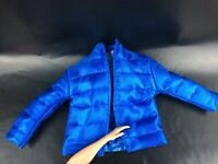 Barbie Ken Doll BMR1959 Jacket Faux Down Puffer Jacket Blue Winter Clothes Ryan