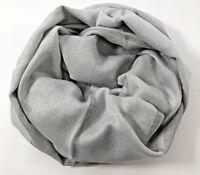 EMPORIO ARMANI Embossed Scarf, 100% Wool, Pearl Grey
