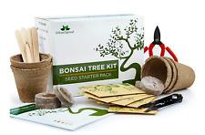 Grow your own Bonsai kit – 5 Bonsai Tree Seeds Species, Starter Kit with Tools