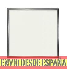 Panel LED Slim 60x60cm 48W 4500lm Marco Plata COLOR BLANCO FRIO 6000K  extrafino