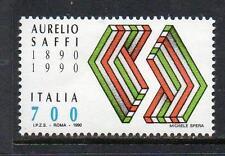 ITALY MNH 1990 SG2093 DEATH CENTENARY OF AURELIO SAFFI