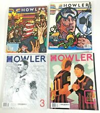 Howler Magazine Lot of 4 Issues 2012 2013 2014 Soccer