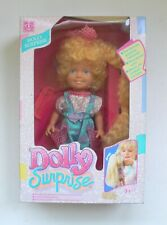 Vintage Hasbro DOLLY SURPRISE HOLLY Fashion Doll w growing hair MISB 1989