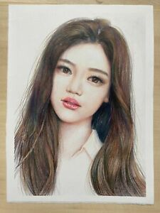 evalyn pu 100%hand draw size9X11pencilcolor
