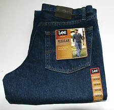 New LEE Jeans Regular Fit Men's Sizes Dark, Light, Pepper Stone, Black Colors