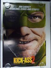 Kick-Ass 2 Col Stars and Stripes Carrey Original Movie Poster One Sheet 69x102cm