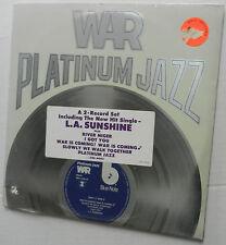 WAR Platinum Jazz SEALED 2xLP Set ORIG outer sticker