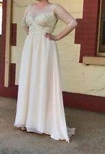 Chiffon A-Line Unbranded Wedding Dresses