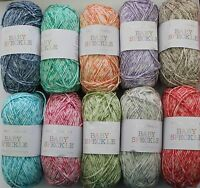 SIRDAR BABY SPECKLE DK KNITTING YARN IN VARIOUS SHADES - 50 G BALLS