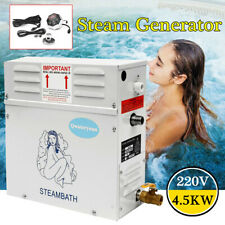 4.5KW Steam Generator Shower Sauna Bath Home Spa+ST-135M Controller Pannel