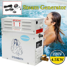 4.5KW Steam Generator Shower Sauna Bath Home Spa+ST-135M Controller Pannel US