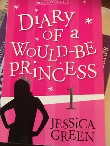 Diary Of A Would Be Princess By Jessica Green, Pb