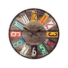 Horloges murales art déco multicolore pour la maison
