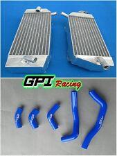 FOR Honda CRF450R CRF450 CRF 2005 2006 2007 2008 05 06 07 radiator &blue hose