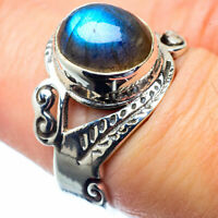 Labradorite 925 Sterling Silver Ring Size 7 Ana Co Jewelry R26868F