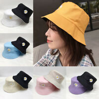Fashion Women's Fishermen Cap Summer Hat Small Daisy Sun Hat Girl Bucket Hat