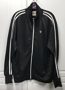 Todd Snyder X Champion Black White Trim Track Suit Jacket Men's Extra Large XL