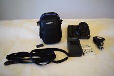 Sony Cyber-shot DSC-HX50V 20.4MP Digital Camera Bundle Lot 1080P Works Great!