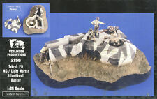 1/35 Verlinden TOBRUK PIT MACHINE GUN/LIGHT MORTAR ATLANTIC WALL BUNKER #2156