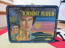 Vintage 1982 1983 Knight Rider Metal Lunch Box - No Thermos David Hasselhoff
