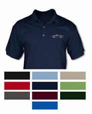 Fiat 124 Sport Spider Convertible 1974 - 82 Polo Shirt - Multiple Colors & Sizes