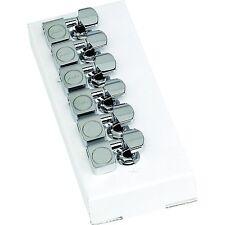 Genuine Fender Schaller CHROME Tuner & Tuning Machine for USA Strat Tele Guitar