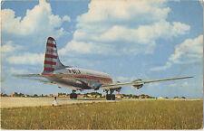 Air Algeria Douglas DC4  in 1958 (Reg F-BELA)