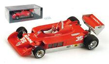Spark S3896 Alfa Romeo 177 #35 Belgium GP 1979 - Bruno Giacomelli 1/43 Scale