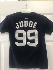 Judge New York Yankees #99 Youth Team Cotton Shirt T Shirt  - Size M (10 - 12)