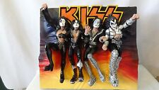 Kiss Rock Band 1998 Proof of Authenticity Wall Hanger or Plaque MIB #G604
