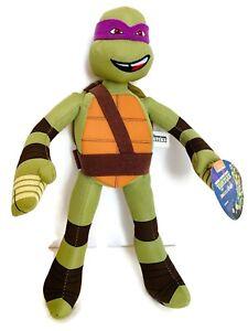 "Nickelodeon Teenage Mutant Ninja Turtles Donatello 16"" Plush/Stuffed Animal"