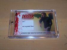 Dexter Season 5 & 6 Trading Card - Prop Card - Noah's Ark Pageant Script DP3