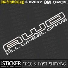 AWD All Wheel Drive Subaru Logo JDM DRIFT Sticker Vinyl Impreza WRX STI
